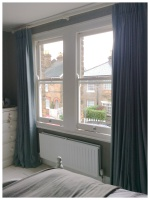 hand made french pleat curtains in kobe interiors linen for home in twickenham